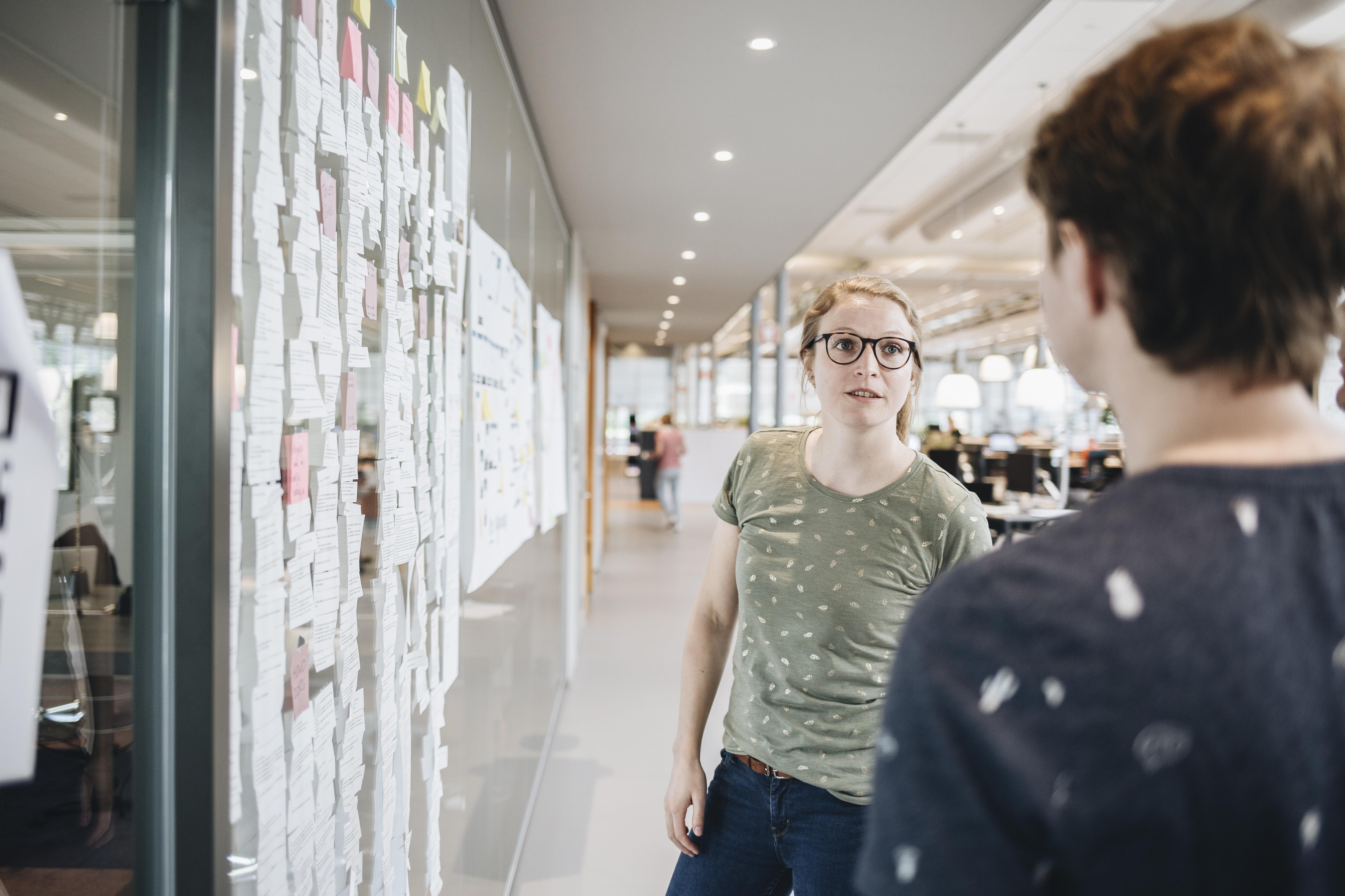 Icon Iedere dag presenteren en feedback ontvangen